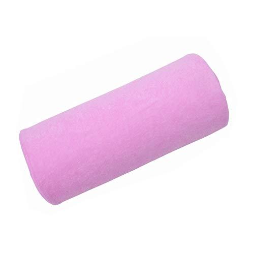 Trifycore Pink Nail Art Design Rest Pillow Half Hand Holder Soft Column Manicure Care Cushion Salon Tools, Nail Art Implements ()