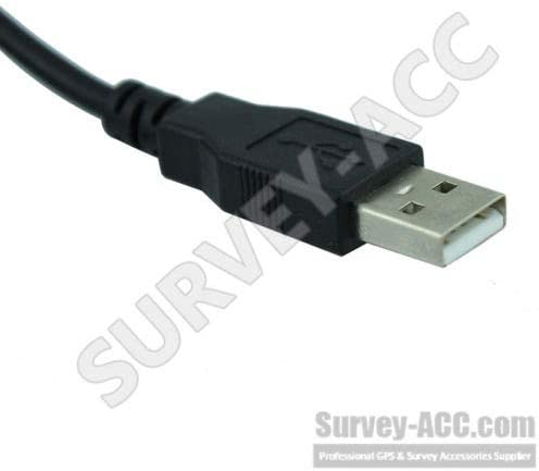 GEV267 USB Data Transfer Cable 806093 connects Viva Total Stations and DNA Serie