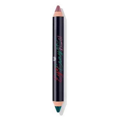 - Dr. Hauschka High Spirits Limited Edition Eye Crayon Duo 01, 0.17 oz