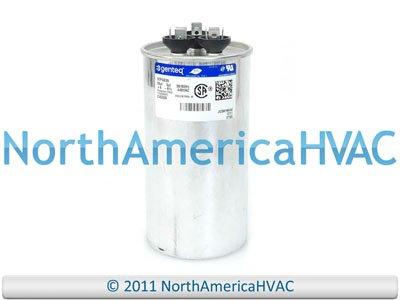 Control Capacitor Tone - GE Genteq Capacitor round 55/5 uf MFD 440 volt 97F9839
