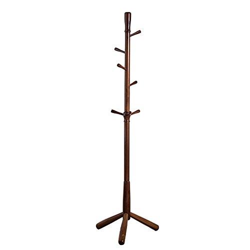 Mai 7 Hanging Pole Coat Rack European Solid Wood Floor Bedro