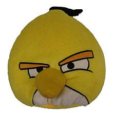 Angry Birds Yellow Belly Pillow