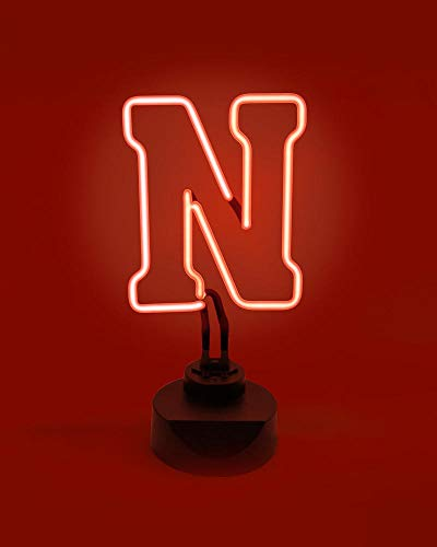 NEBRASKA CORNHUSKERS NEON LIGHT DISPLAY MAN CAVE OFFICE NCAA LICENSED NEW