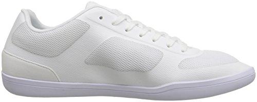 Lacoste Men's Court-Minimal Sport 316 1 Spm Fashion Sneaker, White, 13 M US