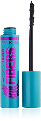 COVERGIRL The Super Sizer Fibers Mascara Black .35 fl. oz. (Packaging may vary) (Cover Girl Volumizing Mascara)