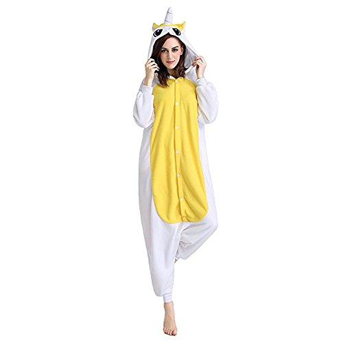 Geekbuzz Damen Strampelanzug mehrfarbig yellow and white