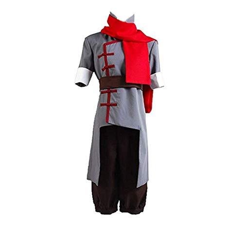 TISEA Korra Mako Halloween Cosplay Costume Grey Version (L, Female)]()