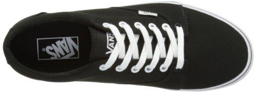 Vans Kress VNLH6BT - Zapatillas de deporte de tela para hombre Negro