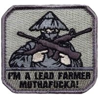 Patch Lead Jack - Mil-Spec Monkey Lead Farmer Patch-ACU-Dark