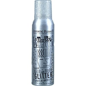 B-wild Hair and Body Glitter Spray Silver 3.5 Oz.