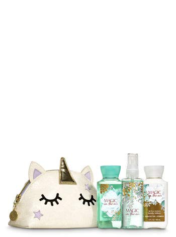 Bath and Body Works MAGIC IN THE AIR Unicorn Cosmetic Bag Gift Set