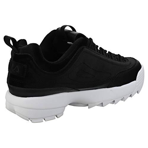 Schwarz Disruptor Damen Premium Sneaker Fila Velour Ii YCwvqAxx7