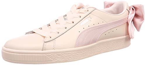 Sneakers Pink PUMA Womens Bow Basket vwqFYxBfa
