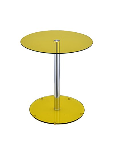 HomeRoots Furniture 286279-OT Tables, Multicolor by HomeRoots Furniture