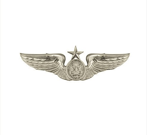 Vanguard AIR FORCE BADGE: AIRCREW: SENIOR - MINIATURE
