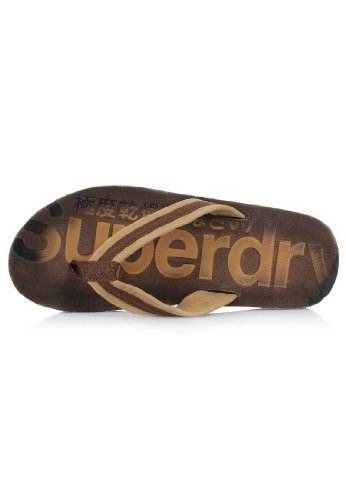 Superdry , Baskets pour homme Marron Marron