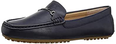 Lauren Ralph Lauren Women's Briony Driving Style Loafer, Navy, 9 B US