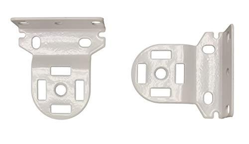 Rollease Skyline Roller Shade Brackets 1-1/2″ White, SLB660