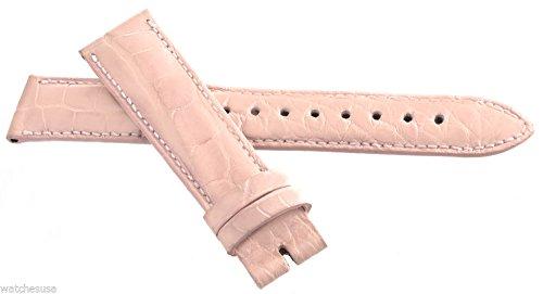 Locman Women's 18mm Pink Alligator Leather Watch Band Strap by Locman