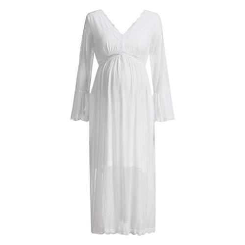 e0614ea86ca4b Sagton Pregnant Maternity Dress For WomenSleeveless Bodycon Mini Dresses  Maternity Props Fan Shop Sports & Outdoors