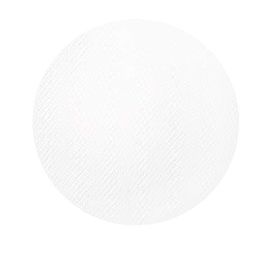 """Darice Dec Tulle (100pc) - 10"""" Pre-Cut White Circles - Perfect for Wedding, Shower Favors, Gifts - Fill with Wrapped Candies, Trinkets and More - Decorate with Ribbon, Florals and"""