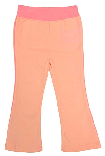 HARLEY-DAVIDSON Little Girls' Glitter Script Fleece Yoga Pants Pink 4021738 (2T)