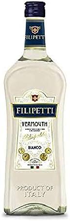 Filipetti Vermouth Bianco Vino - 6 Paquetes de 1000 ml - Total: 6000 ml