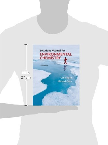 student solutions manual for environmental chemistry amazon co uk rh amazon co uk Colin Baird Buccaneers Colin Baird Facebook