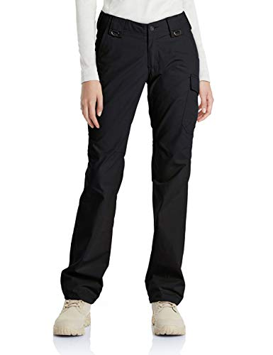 CQR Womens Flex Stretch Tactical Long Pants Lightweight EDC Assault Cargo with Multi Pockets WFP510