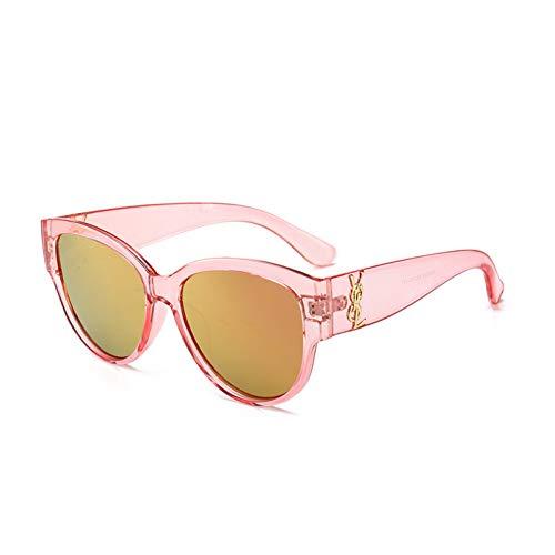 De Lunettes Femmes Soleil Pink Femme Haute Mode Dames Vintage Qualité Uv400 Carré Gjyanjing Aviator A5qwRd6q