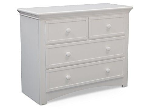 Bedroom Full Size Vanity - Serta 4 Drawer Dresser, Bianca