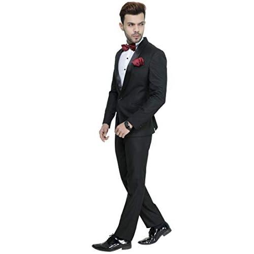 31zKOafJ wL. SS500  - MANQ Men's Slim Fit Tuxedo Suit (Pack of 2)