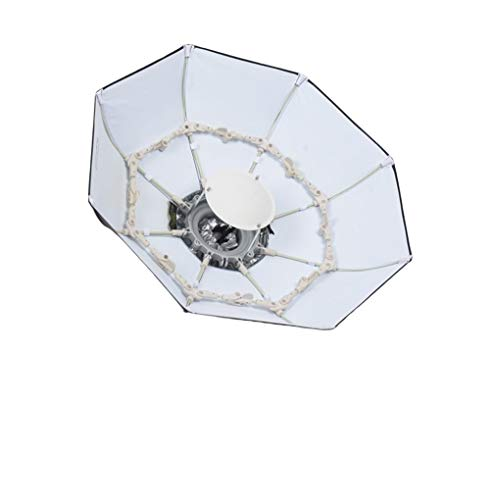 Fomito®70cmイージーソフトボックス ビューティー ディッシュ付き Bowens マウント 黒白色