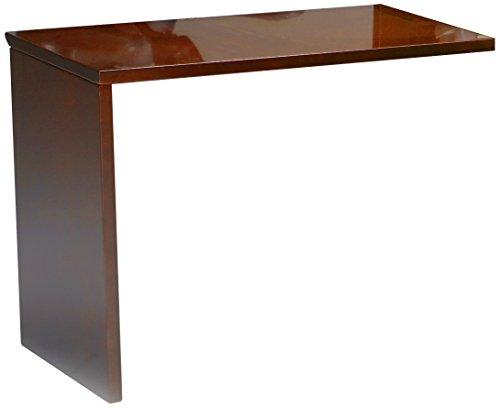 Mayline NRTNACRY Napoli Universal ADA Return for Napoli Reception Station, sold separately, Sierra Cherry Veneer