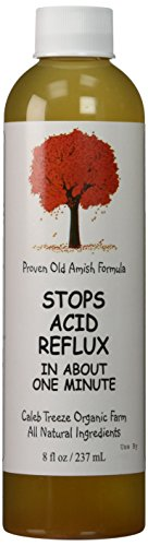 Caleb Treeze Organic Farm Stops Acid Reflux 8 oz (Pack of 3) by USA