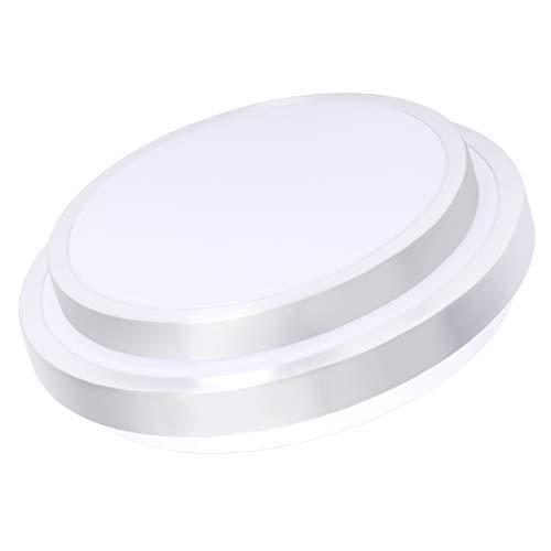 - Drosbey 32W LED Ceiling Light, 14in Flush Mount Light Fixture, Lights for Bedroom, Kitchen, Bathroom, Hallway, 2700 Lumens, 5000K Daylight White, 240W Incandescent Bulbs Equivalent