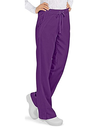 Purple Label Women's''Taylor'' 9095 2 Pocket Drawstring Scrub Pant by Healing Hands Scrubs- Eggplant- LT by Purple Label by Healing Hands Scrubs