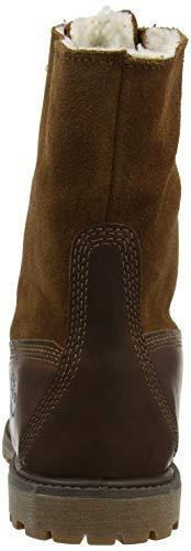 Down Fleece Bottines Ftw Braun Marron Fold Authentics Wp Brown authentics Classiques Teddy dark Timberland Femme 8Ig70q17