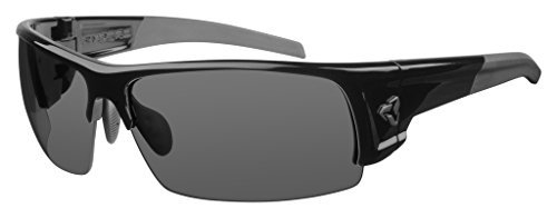 RYDERS Unisex-Adult Caliber R890-001 Wrap Sunglasses, BLACK, 66 - 001 Glasses