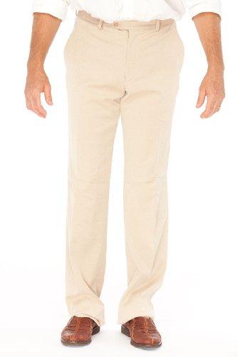 Armani Collezioni Beige Cotton Pants Trousers, 28, Beige
