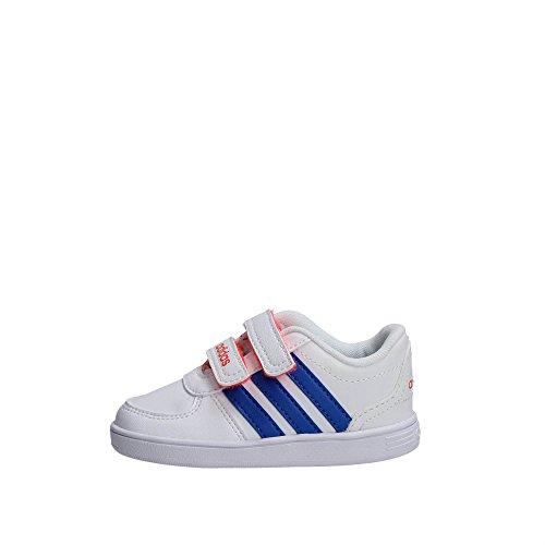 Adidas B74682 Zapatillas De Deporte Chica Cuero Sintético Blanco Blanco