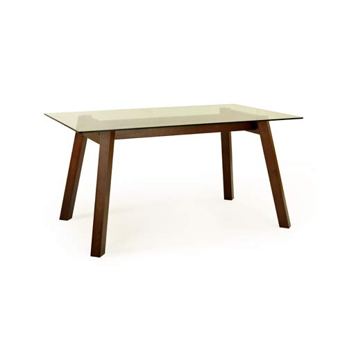 Cozyhomz Dining Table 6 Seater Tempered Glass top   Clair  ONLY Table .