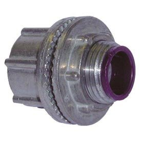 Image of Hubbell 1702 ConduitHub 1/2' Trade Size - Zinc Cylindrical Connectors