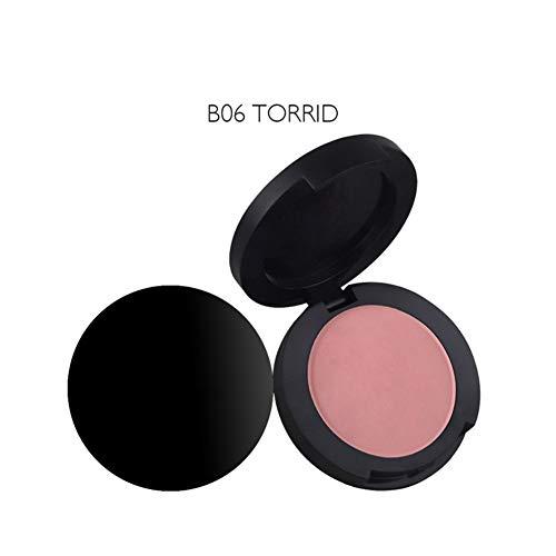 - Fashion Velvet Blusher Powder Makeup Multi-Purpose Blusher Smooth Makeup Contour Face Foundation Cream Blusher Rouge,ColorfulLaVie Face Grooming Powder For Women -8 Colors