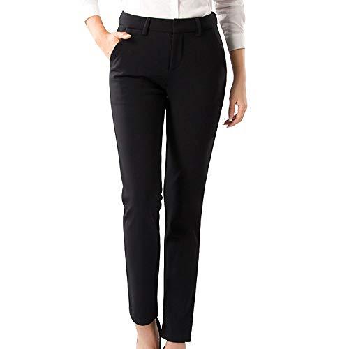 Women's Comfort Fit Stretch Pants Fleece Lining Thick Slim Winter Trouser