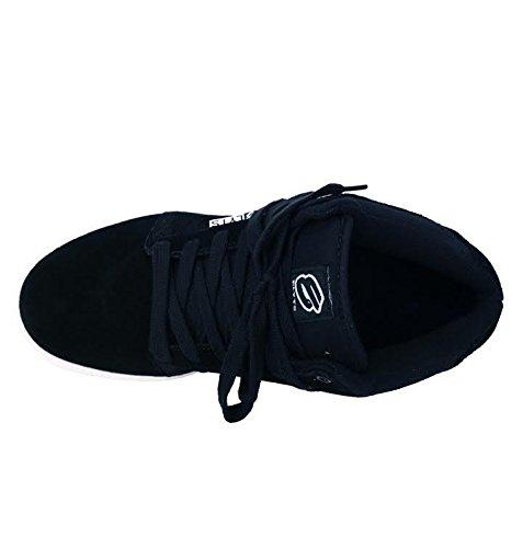 Elyts - Zapatillas de skateboarding de Piel para hombre Negro negro, color Negro, talla 45