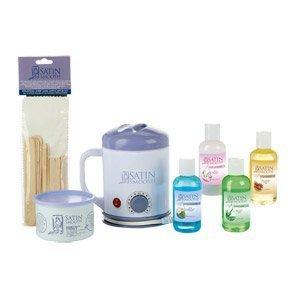 SATIN SMOOTH Single Warmer Wax Kit [Health and Beauty]