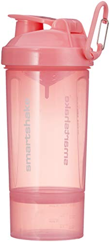 Smartshake Original 2GO One, 27 oz Shaker Cup, Light Pink