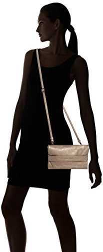 Tom Tailor Denim MICA - Bolso para mujer, talla 23x13x2 cm (B x H x T) Dorado (Gold 15)