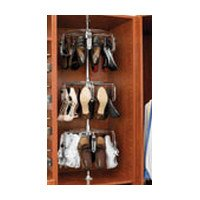 Rev-A-Shelf 5-Shelf Women's Shoezen Shoe Organizer, Chrome